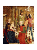 The Adoration of the Magi Prints by Master of the High Altar of Churwalden