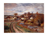 Normandy Countryside Giclee Print by Pierre-Auguste Renoir
