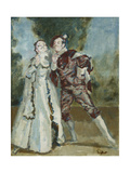 La Ci Darem la Mano; Don Giovanni Prints by Walter Richard Sickert