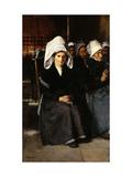 Breton Woman at Prayer Prints by Jimenez y Aranda Luis