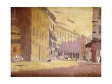 Rue a Dieppe Print by Walter Richard Sickert