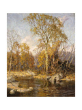 Autumn Reflections Posters by Frederick John		 Mulhaupt