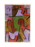 Indianisch Print by Paul Klee