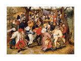 The Wedding Dance Giclee Print by Pieter Brueghel the Younger