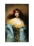 A Red-Haired Beauty Giclee Print by Albert Joseph Penot
