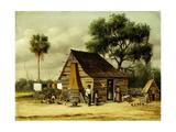 Wash Day Giclee Print by William Aiken Walker