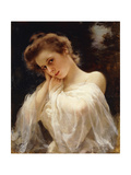 A Young Beauty Giclee Print by Louis Marie		 De Schryver