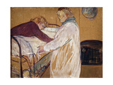 Two Woman Making their Bed Láminas por Henri Toulouse-Lautrec
