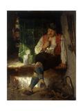 A Tavern Scene Giclee Print by Hugo Wilhelm Kauffmann