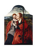The Virgin and Child seated by a Tree Giclee Print by The Master of the Mansi Magdalen