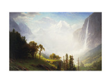 Majesty of the Mountains Art by Albert Bierstadt