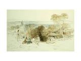 Camerino, 1849 Giclee Print by Edward		 Lear