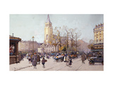 St. Germaine de Pres Art by Eugene		 Galien-Laloue