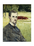 Portrait of the Artist by Himself Giclee Print by Gustave		 Caillebotte