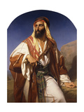 A Bedouin Chieftain Giclee Print by Godfried		 Guffens