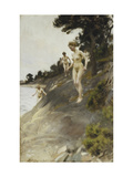 Frightened Giclee Print by Anders Leonard		 Zorn