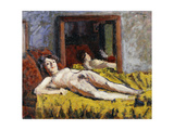 The Yellow Drape Giclee Print by Roderic		 O'Conor