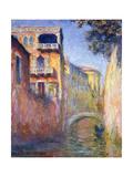 Le Rio de la Salute Impression giclée par Claude Monet