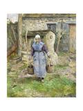 Mother Presle, Montfoucault Posters by Camille Pissarro