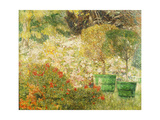 A Corner of My Garden Giclee Print by Emile		 Claus