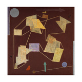 Buoyancy and Displacement (Soaring) Giclee Print by Paul Klee