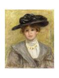 Madame Paul Valery Giclee Print by Pierre-Auguste Renoir
