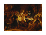 The Murder of the Bishop of Liege Giclee Print by Ferdinand Victor Delacroix