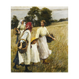 The Blackberry Harvest Posters by Harold Harvey