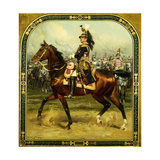 General d'Hautpoul on Horseback Prints by Jean Baptiste Edouard		 Detaille