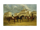 Preparing to Start for the Emperor of Russia's Cup at Ascot, 1845 Prints by John Frederick Herring I