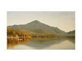 Mount Whiteface from Lake Placid, in the Adirondacks Giclee Print by Albert Bierstadt