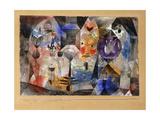 Concentrierter Roman Affiches par Paul Klee
