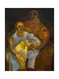 Mother and Child Posters by Juan Gris