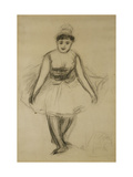 The Singer Rosita Mauri Poster by Pierre-Auguste Renoir