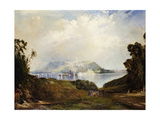 A View of Fairmont Waterworks, Philadelphia Premium Giclee Print by Thomas		 Moran