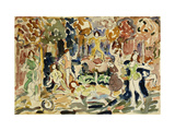 Dancing Figures Poster by Maurice Brazil Prendergast
