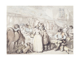 The Butchers Stall, Leadenhall Market Giclee Print by Thomas		 Rowlandson