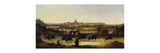 The Pope Leaving Rome Premium Giclee Print by Vincenzo		 Giovannini