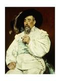 Portrait of a Gentleman Giclee Print by Raffaelli Jean-Francois