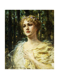 Woodland Grace Poster by James Carroll		 Beckwith
