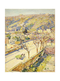 Posillipo, Italy Prints by Frederick Childe		 Hassam