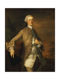 Portrait of David Garrick Giclee Print by Thomas		 Gainsborough