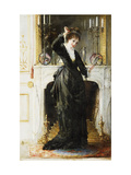 In the Boudoir Giclee Print by Alfred		 Stevens