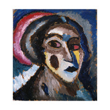 Head (Clammy Portrait) Prints by Alexej Von Jawlensky