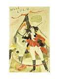 The Animal Tamer Presents Poster by Charles		 Demuth