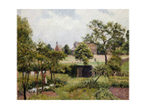 A View of Stamford Brook Common Posters by Camille Pissarro