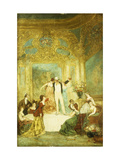 Une Soiree chez La Paiva Giclee Print by (circle of) Adolphe Monticelli