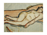 Reclining Nude Giclee Print by Christian Rohlfs