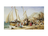 A Day Trip, Ramsgate Giclee Print by William		 Parrott