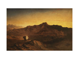 The Flight into Egypt Giclee Print by John		 Martin
